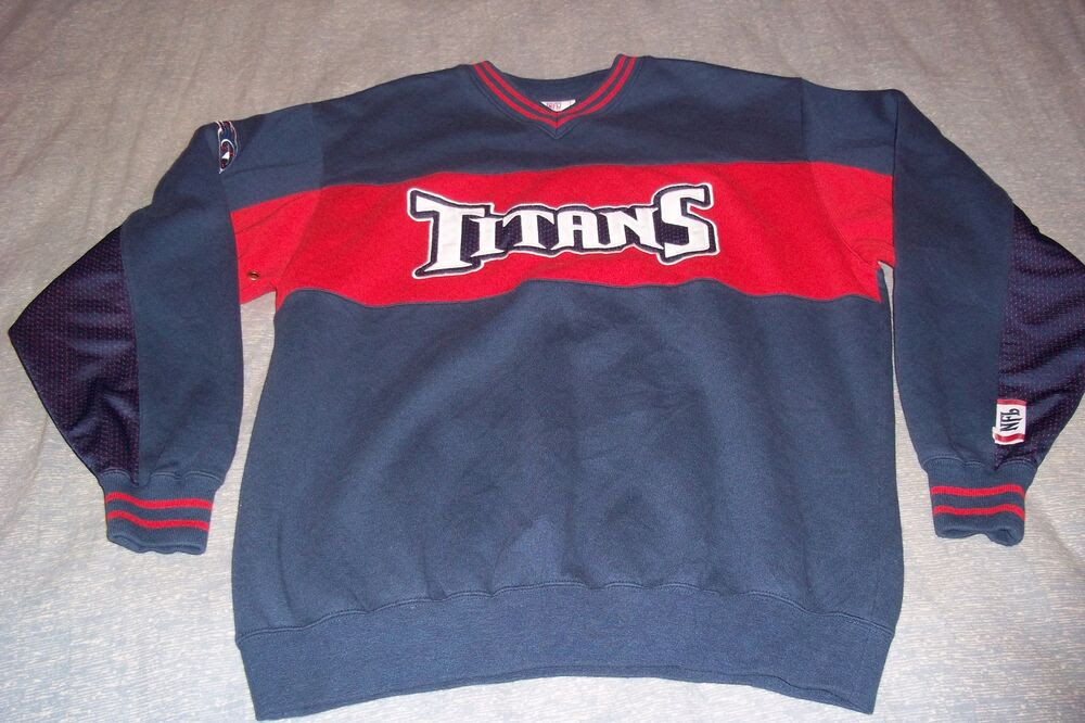 Tennessee Titans NFL Team Apparel Football Sweatshirt Mens Medium  eBay