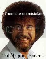 There are no mistakes