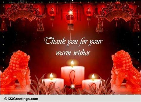 Chinese New Year Thanks! Free Thank You eCards, Greeting