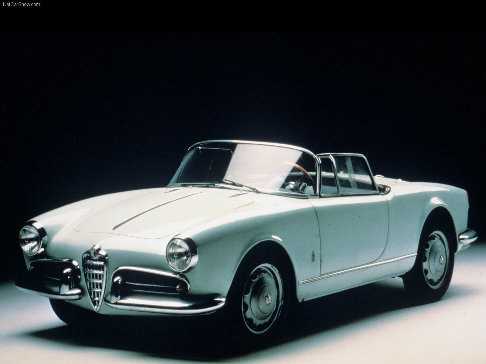 Alfa Romeo Giulietta Spider classic cars convertible wallpaper  1600x1200  616348  WallpaperUP