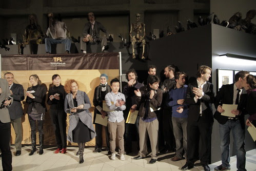 Awardees of this year's Torino Film Lab