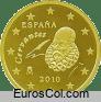 Moneda de 10 centimos de España (2a edicion)