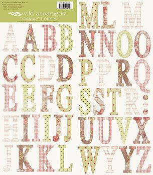 Image result for Wild ASparagus Vintage letters MME