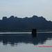 boat in komodo island