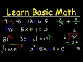 Math Videos: How To Learn Basic Arithmetic Fast - Online Tutorial Lessons  Easily