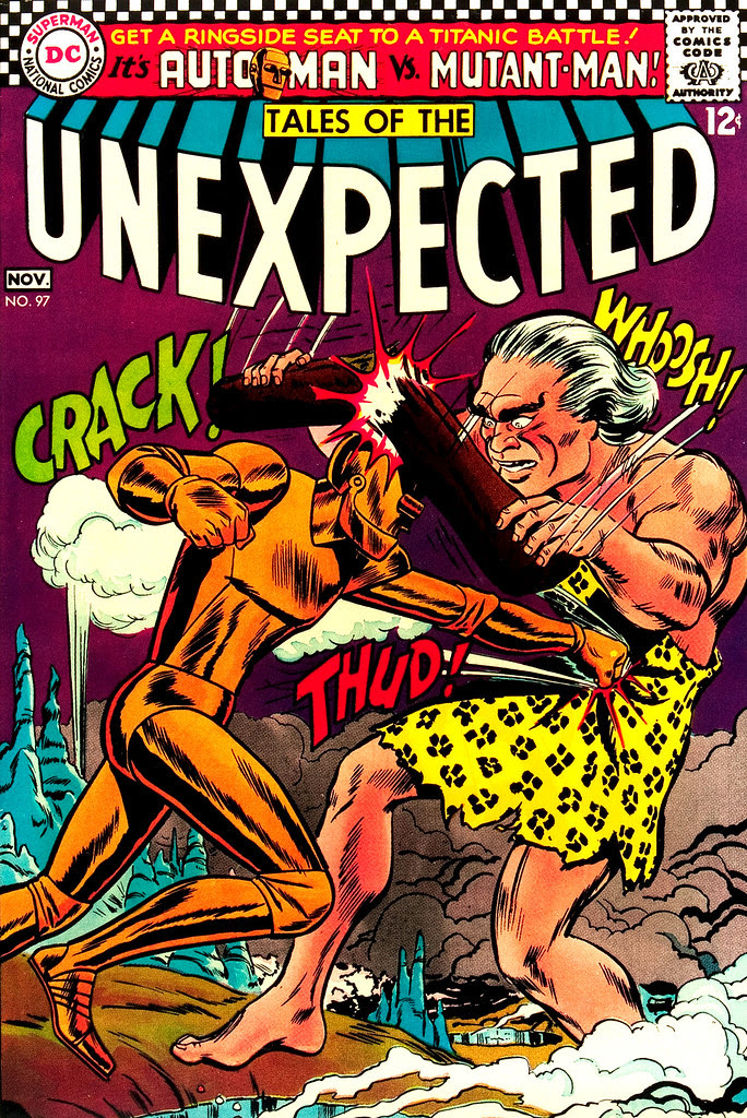 Tales of the Unexpected #97 (DC, 1966) Jay Scott Pike cover