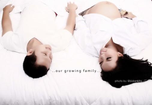 Sepasang suami istri datang ke Bidan Kita Resep Untuk mendapatkan Gentle Birth