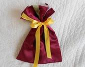 Gift Bag - Lingerie Multi-purpose Reusable Eco Friendly Bag - Wedding Travel - Fully Lined - OOAK