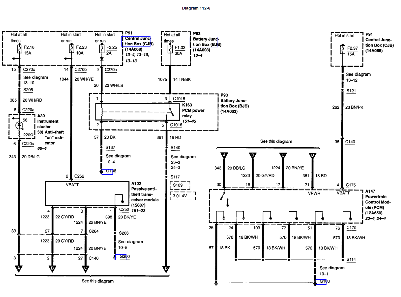 06 F150 Pats Wiring Diagram Wiring Diagram Reference A Reference A Reteimpresesabina It
