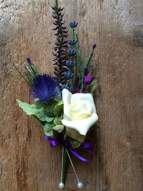 Thistle, Cream Rose & Heather   Jennifer Morrison