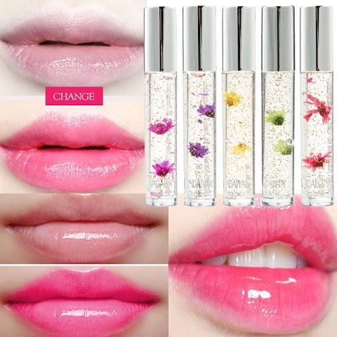 Clear Lip Gloss On Lipstick
