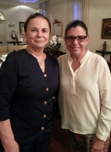 Procuradora-geral Regina Rocha e a governadora Roseana Sarney