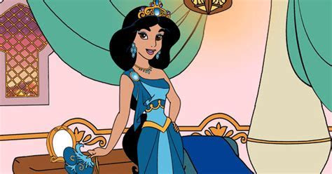Jasmine in the Palace Dress Up Game   Disney Princess