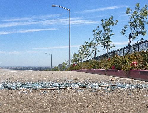 bike lane trash in Antioch