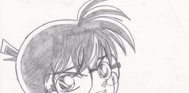 Detective Conan Drawing Pencil