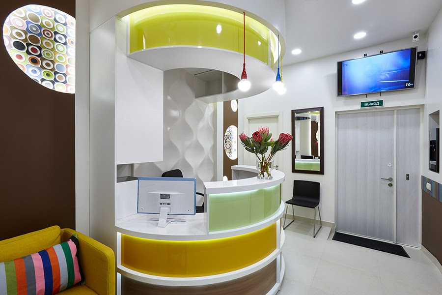 Cheerful Dentists Office That You Would Like To Visit Again Again