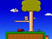 Help this teddy bear save the day in Twee! #OnlineGames #FlashGames #PlatformGames