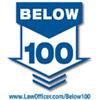 below 100