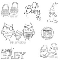 Baby, We've Grown Wood Stamp Set