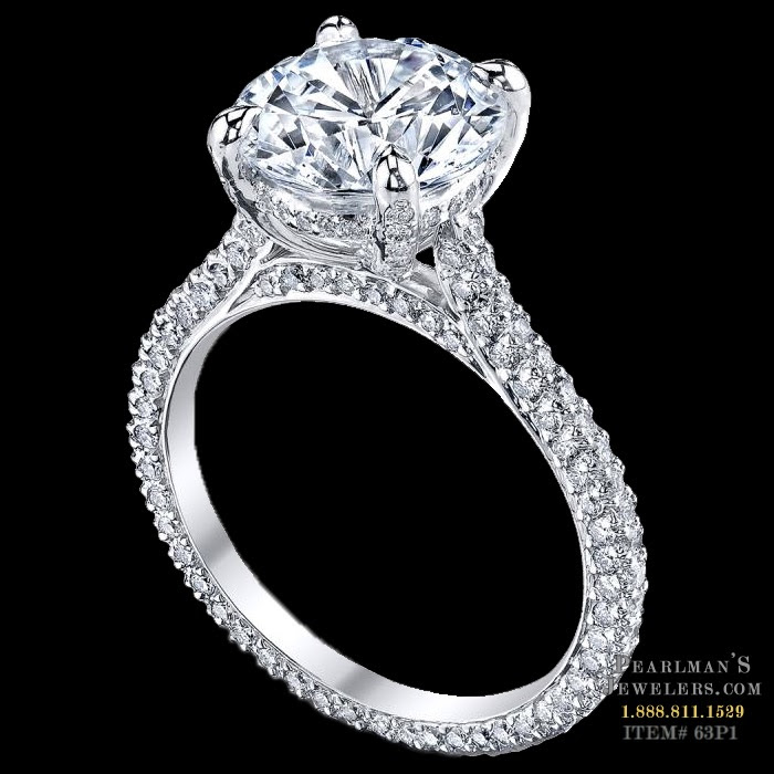Michael B. Jewelry Paris Engagement Ring
