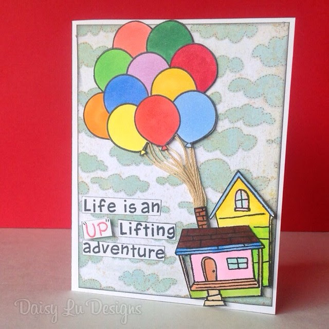 "Life is an ""UP"" lifting adventure!"