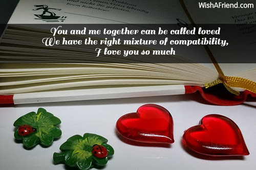 You And Me Together Can Be Sweet Love Message