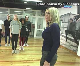 Clara de Sousa sensual no Lip Sync
