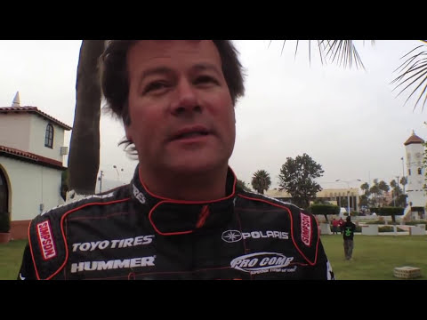 Robby  Gordon interview 2011 Baja 1000 race morning