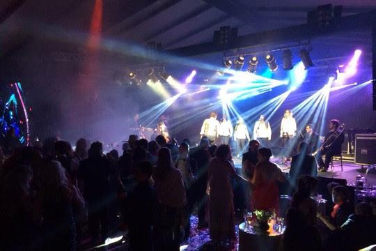 A pista de dança da festa  (Foto: Divulgação)