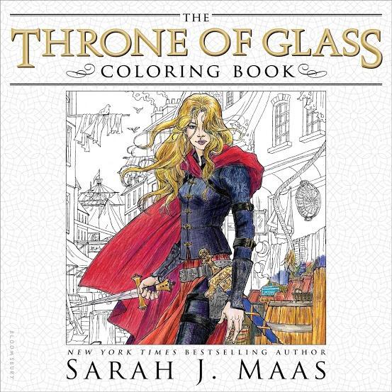 Resultado de imagem para throne of glass coloring book