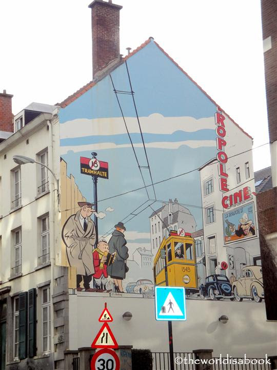 Mural Tour Brussels