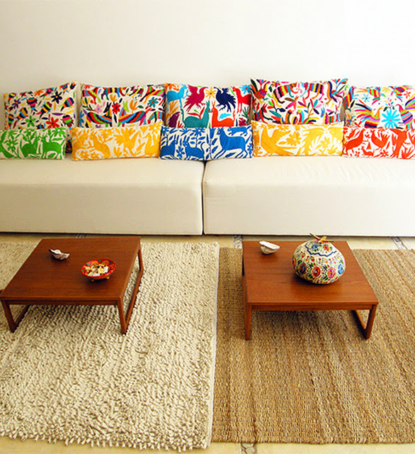 Otomi Throw Pillows - eclectic - accessories and decor - - by ...