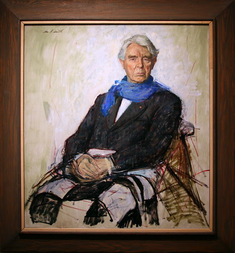 Carl Sandburg, 1961 by William Arthur Smith, Oil on canvas