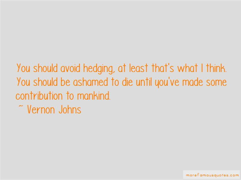 Vernon Johns Quotes Top 3 Famous Quotes By Vernon Johns