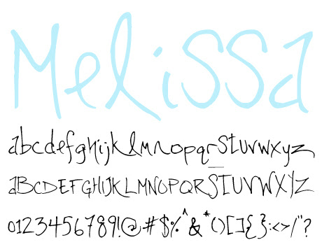 click to download Melissa