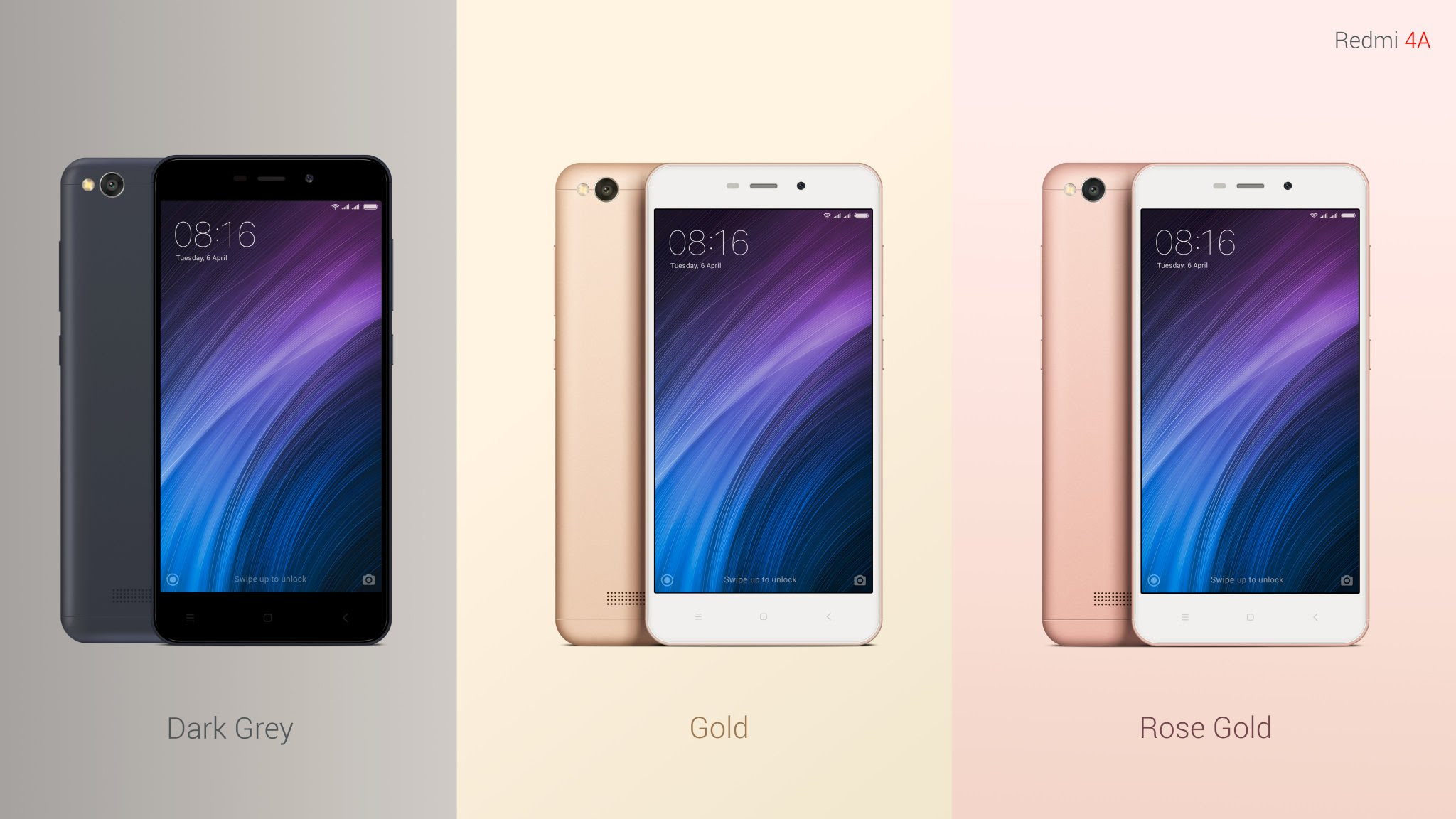 Xiaomi Redmi 4a Launched In India At Rs 5 999 With 4g