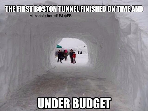 Boston tunnel meme