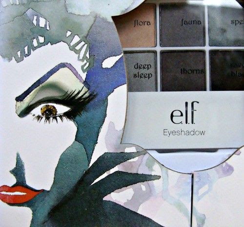 ELF Maleficent Face MakeUp Set Disney Villain Halloween Book Step by Step Guide