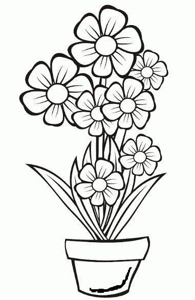 47 Inspirasi Sketsa Bunga Mawar Dalam Vas Sketsa Bunga
