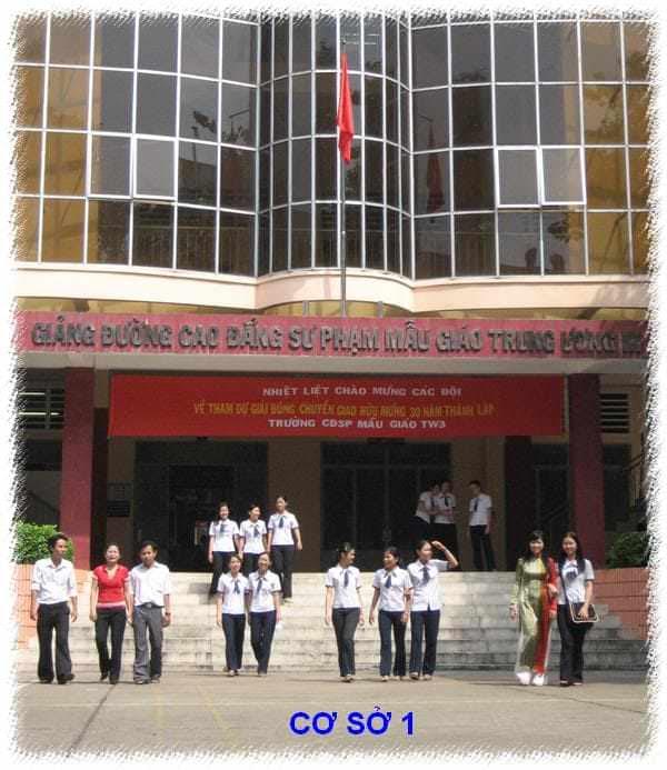 trường cao đẳng sư phạm mẫu giáo tw3