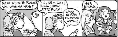 Home Spun comic strip #532