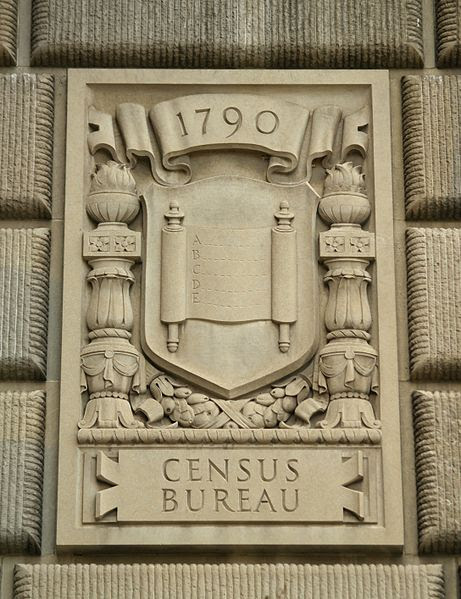 File:1790 A ... B ... C ... D ... E ... Census Bureau James Earle Fraser's Limestone Relief Panel, Department Of Commerce Building (Washington, DC).jpg