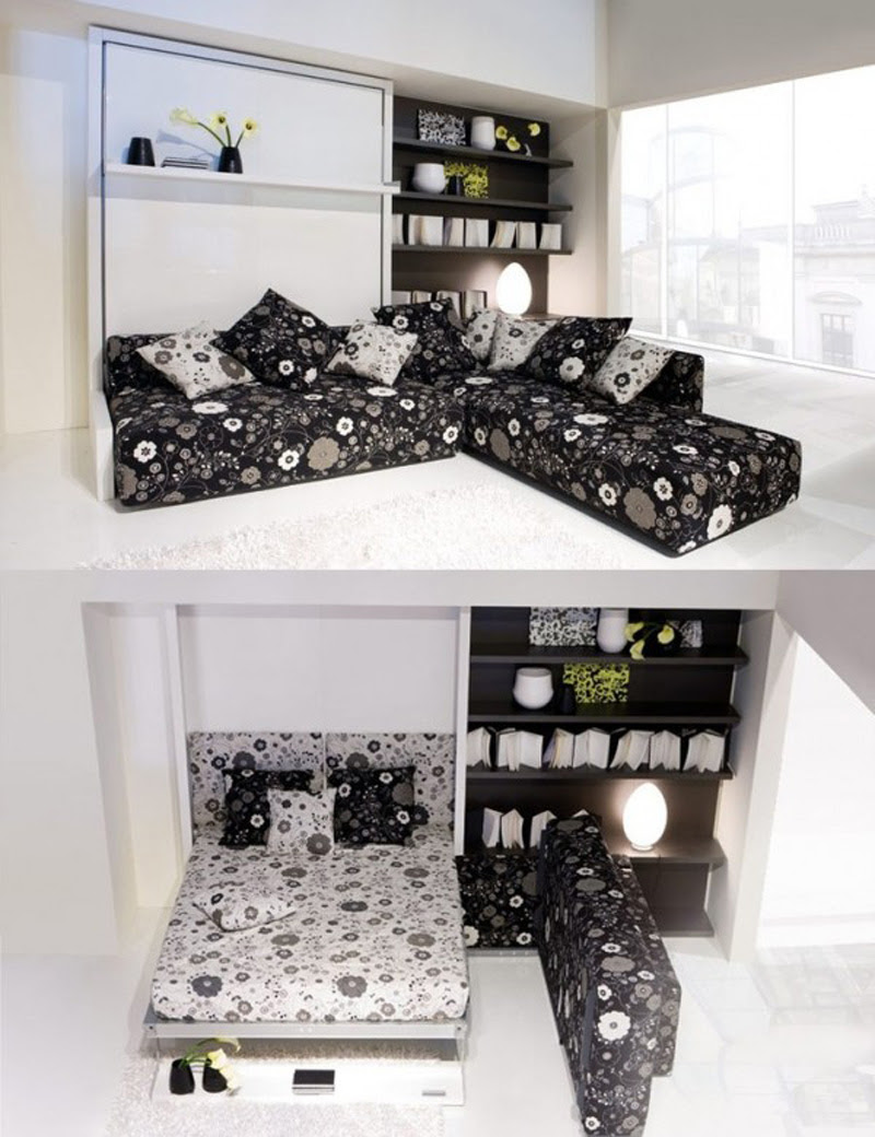 20+ Ideas Of Space Saving Beds For Small Rooms ...