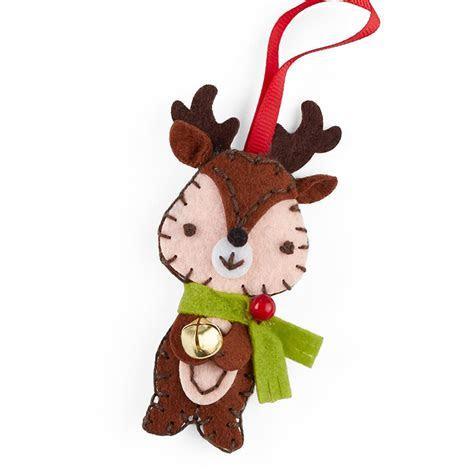 Felt Stitch Reindeer Ornament Craft Kit   Activity Kits