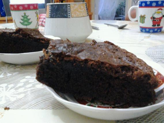 Recette - Gâteau fondant au chocolat sans beurre | 750g
