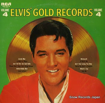 PRESLEY, ELVIS elvis' gold records volume4