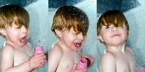 shower baby