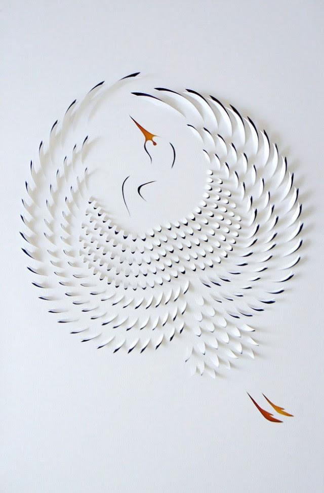 Exquisite handicraft of paper-cut art - Vuing.com