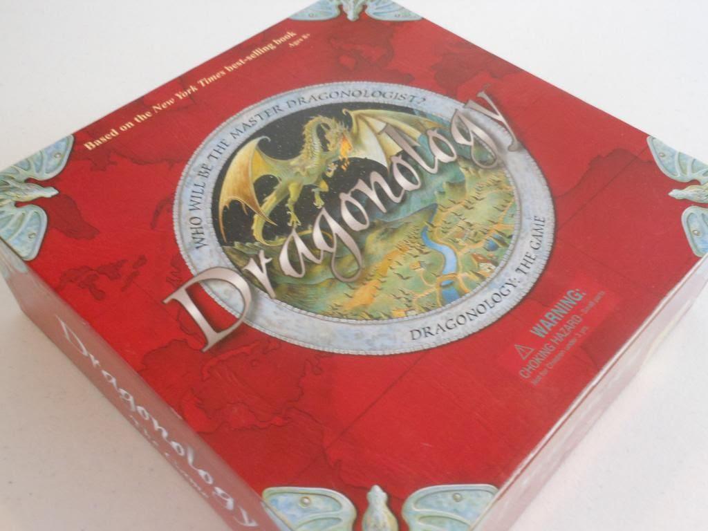 Dragonology game box