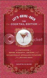 lesley blume let's bring back cocktail edition